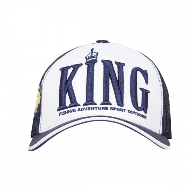 Boné King Brasil - Blue with white