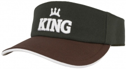 Viseira King Brasil - Green Brown
