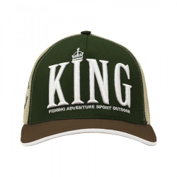 Boné King Brasil - Green Brown