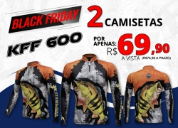CAMISETA KING BRASIL KFF600 - BLACK FRIDAY 2 POR 1